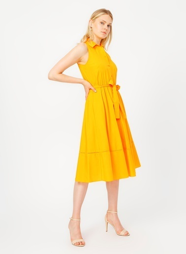 Random Elbise Sarı